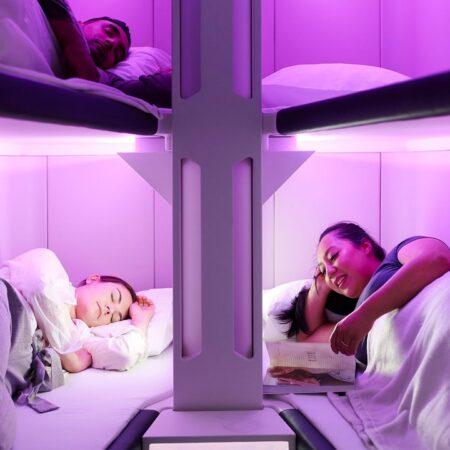 26.02.2020 Air New Zealand установит в самолетах модули для отдыха