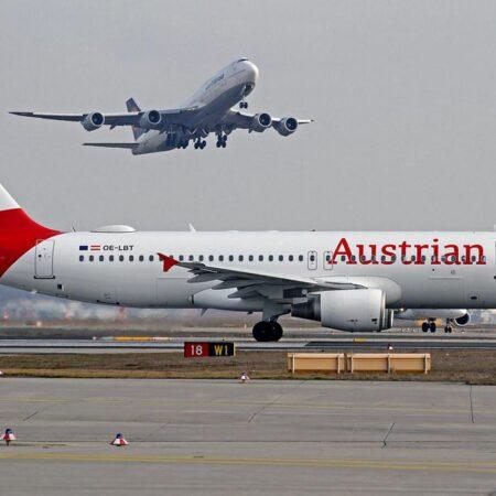 Австрийские авиалинии временно прекращают полеты