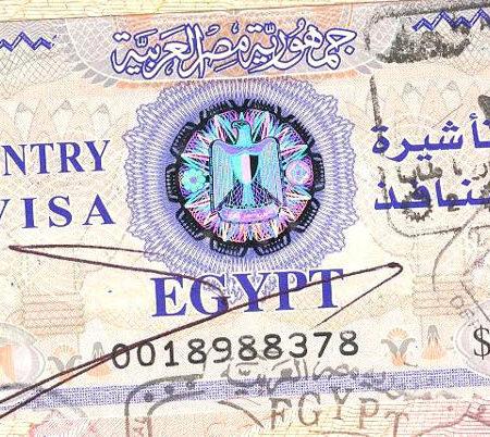 05.03.2020 Египет вводит визы для туристов