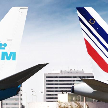 KLM и Air France отменяют рейсы в Киев до 30.06.2020