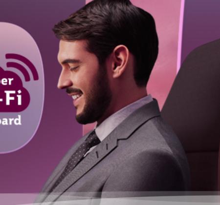 Послуга швидкісного доступу до інтернету на борту Super Wi-Fi
