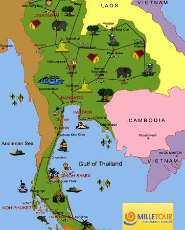 Спеціальна Туристична Віза для Таїланду