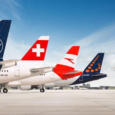 First test, then fly. ⠀Обов'язкове експрес-тестування на рейсах Lufthansa Group.